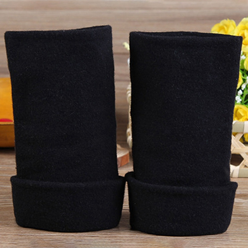 Autumn Winter Fashion Half Fingerless Gloves Anime Naruto Cosplay Warm Gloves