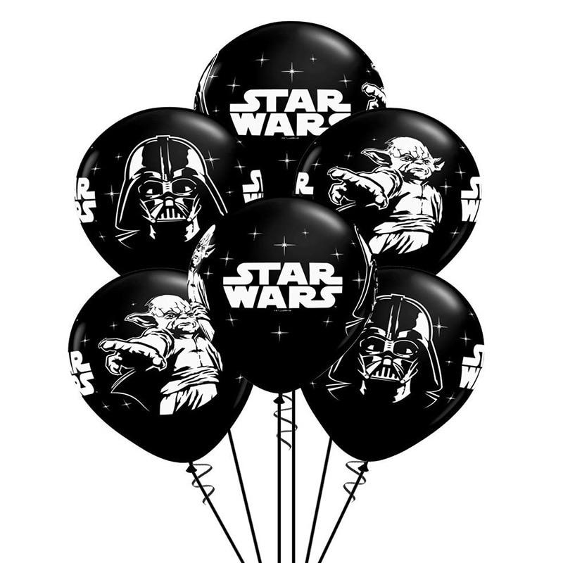 6 шт. Starwars воздушные шары День рождения украшения Детские игрушки украшение дома Fiesta деко Decoracion подарок Decoracao Юбилей