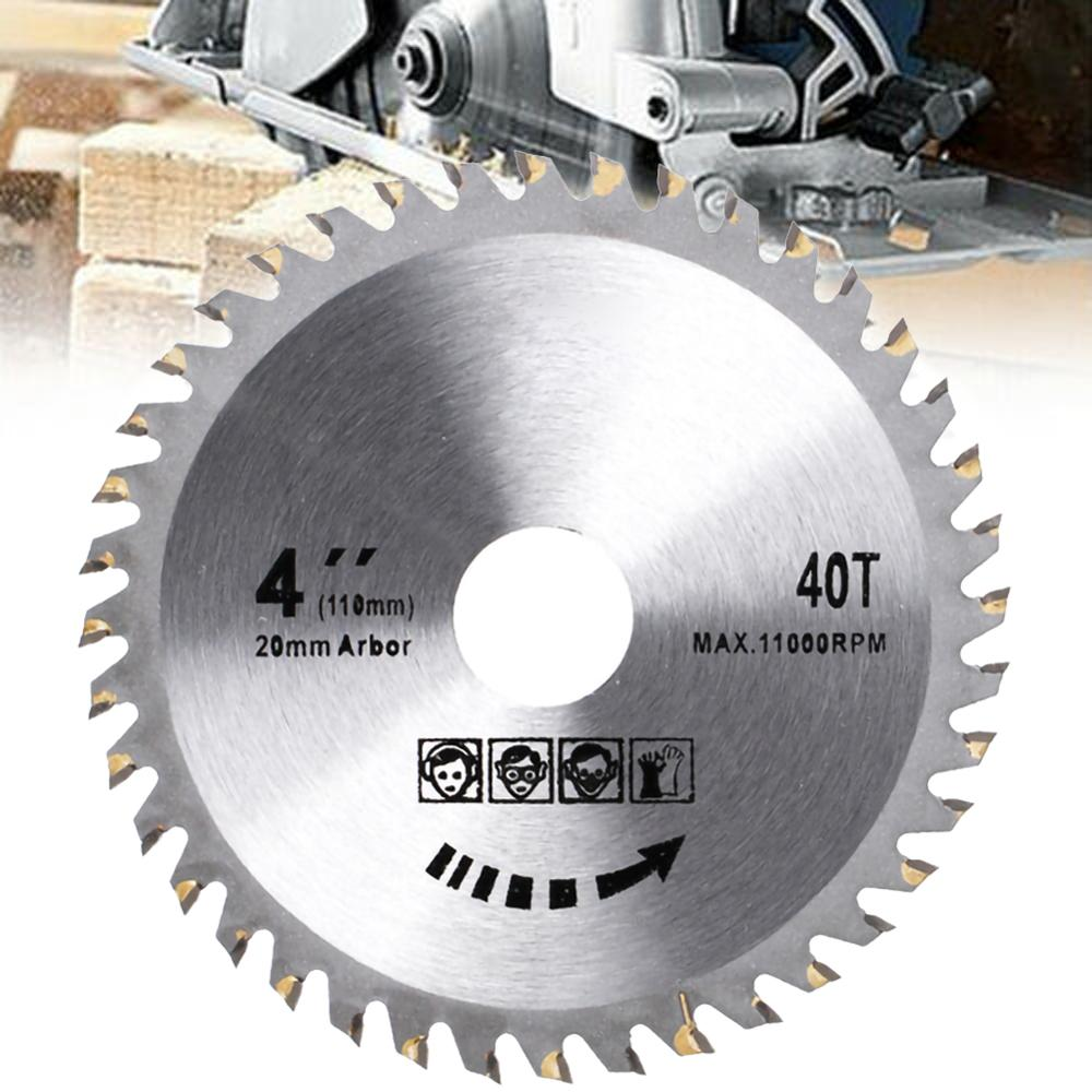 4 Inch 105mm 40 Teeth Wood Carving Disc Circular Saw Blade Disc Cutter Metal Plastic For Angle Grinder For Metal Cutting