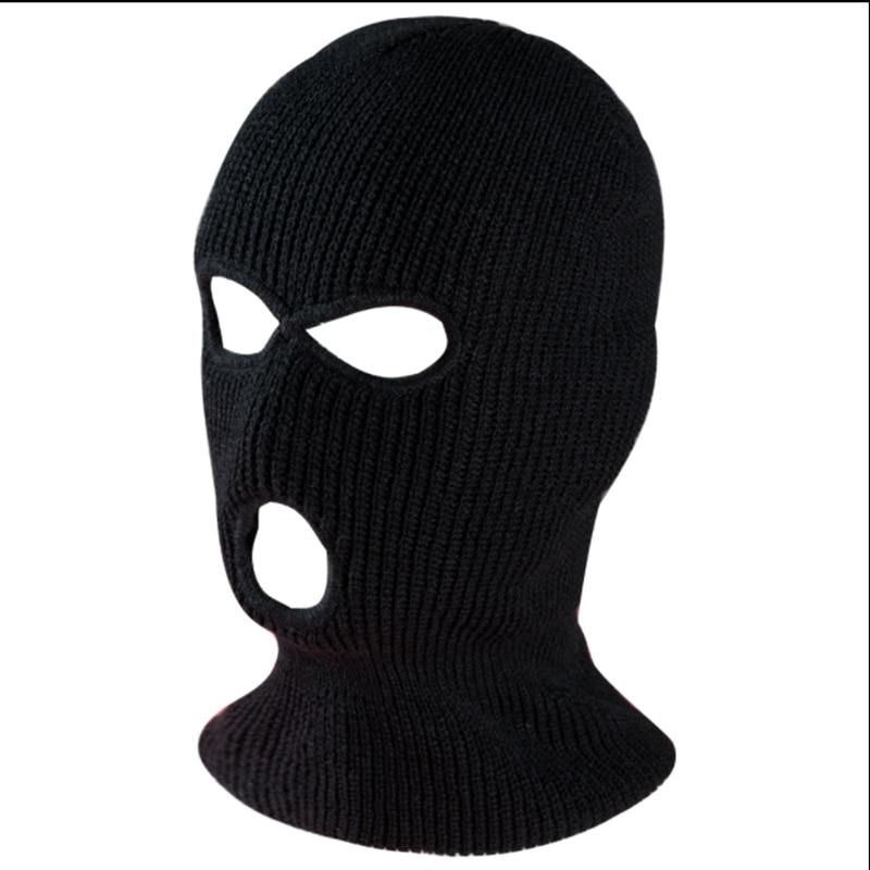 WZCX Защита лица сиамская теплая шапка осень-зима однотонная велосипедная ветрозащитная Лыжная Шапка в масках
