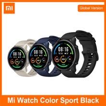 Xiaomi-reloj Mi con GPS, pulsera con Monitor de ritmo cardíaco de deporte, Pantalla AMOLED de 1,39 pulgadas, resistente al agua hasta 5atm, Color, versión Global