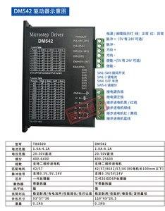 Image 2 - CNC נתב 3 ציר ערכת, 3pcs TB6600 מנוע צעד נהג + אחד הבריחה לוח + 3pcs Nema23 425 Oz ב מנוע + אספקת חשמל