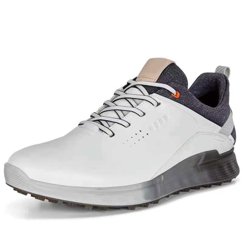 New Golf Shoes for Men Training Sneakers Leather Golf Shoes Non-slip and Waterproof High-quality Golf Shoes Genuine Leather