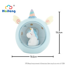 Unicornss Cartoon Cute Animal LED Night Light Baby Room Bedside Lamp Bedroom Decor Gifts For little Girls(China)