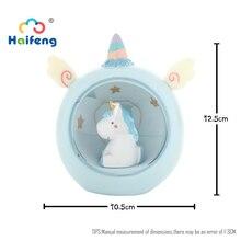 Unicornss Cartoon Niedlichen Tier LED Nachtlicht Baby Zimmer Nacht Lampe Schlafzimmer Decor Geschenke Für kleine Mädchen