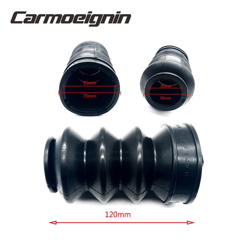 35mm Fork Cover Front Gaiters Boot Shock Absorber For Harley Street XG500 XG750