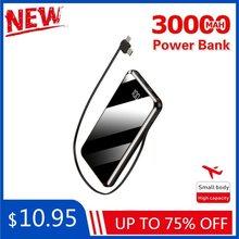 30000mah banco de potência portátil tela cheia grande capacidade bateria externa carregador rápido para iphone x s xiaomi redmi powerbank