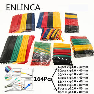 Heat-Shrink-Tubing-Wire-Cable Assorted Shrinking Insulation Polyolefin Termoretractil