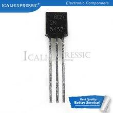 10 pçs 2n5457 5457 2n5458 5458 to-92 jfet n-channel transistor uso geral novo original em estoque