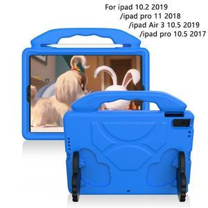 Чехол для ipad 10,2 2019, противоударный нетоксичный чехол-подставка для планшета ipad air 3 10,5/pro 10,5 EVA, чехол для ipad 10,2
