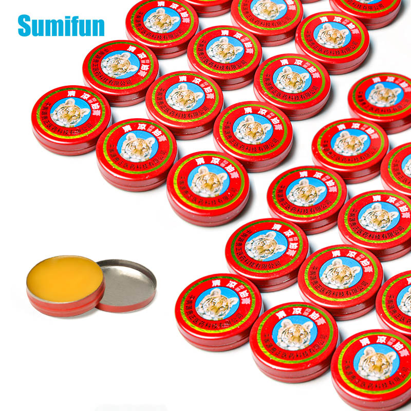 3g & 10g Sumifun Red Tiger Balm Ointment Back Neck Arthritis Muscle Chinese Essential Cool Cream Pain Relief Oil