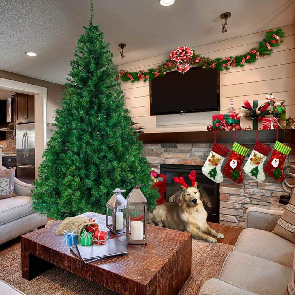 7 футов 1100 ветка Рождественская елка прочная и долговечная шифрование Рождественская елка украшение