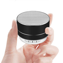 LIGE New wireless bluetooth speaker metal mini portable subwoof sound with Mic TF card FM radio AUX MP3 music play loudspeaker(China)