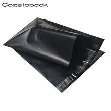 100 шт черные полиэтиленовые пакеты для премиум защитные конверты