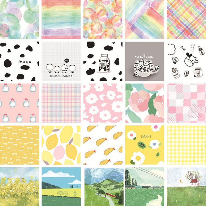 30Sheets/Pack Hot Sale Japanese Series N Times Sticky Notes Sulphuric Acid Note Decor Memo Pad Paper Decoration Stationery