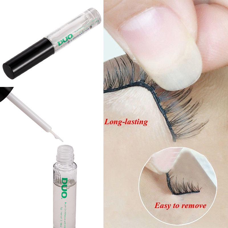 5ml Professional Quick Dry Eyelash Glue Extension Lasting False Eyelash Makeup Adhesive Double Eyelid Beauty Tools Don't Freeze
