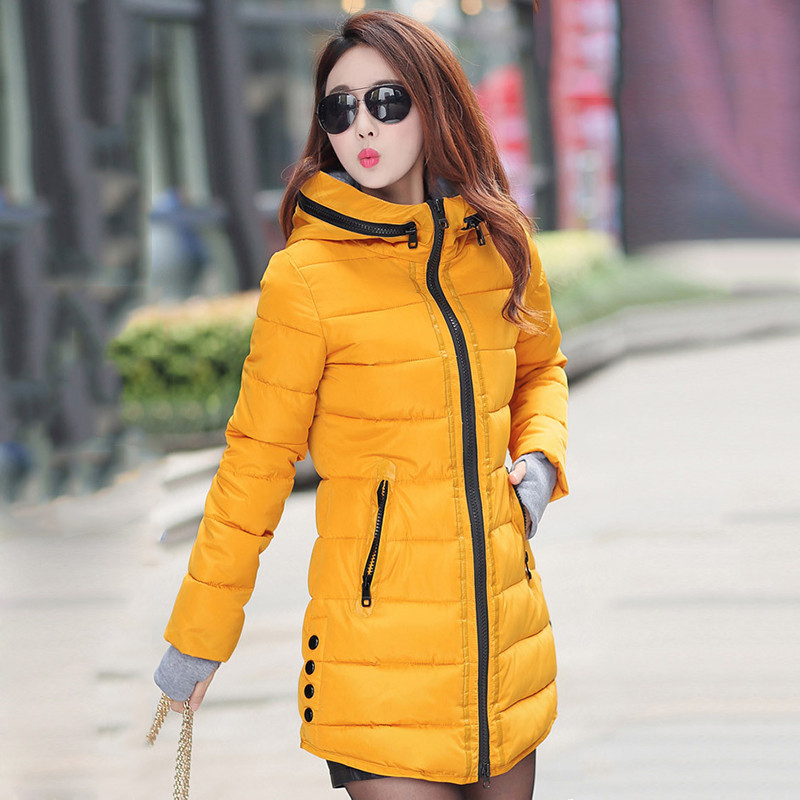 2018 Winter Jacket Women Plus Size Womens Jackets And Coats Female Cotton Padded Long Parka Korean Hooded Chaqueta Muje[]// 3