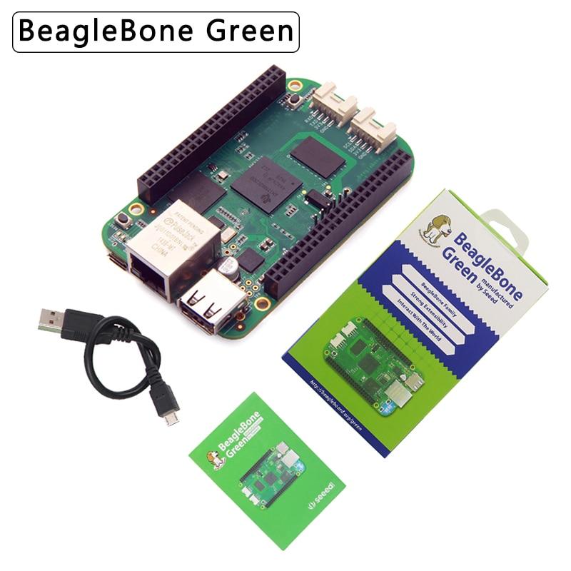 New BeagleBone Green Single Board Computer Open-source Hardware ARM Development Demo Board For IoT Base On BeagleBone Black