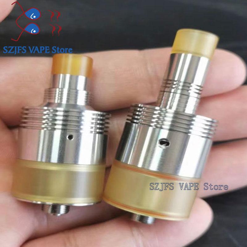 E Cigarette Goon Rdta 528 Atomizer Electronic Cigarette SS Material 22mm Diameter Mech Tank For 510 Vape Mods Vaporizer Kit  K5k