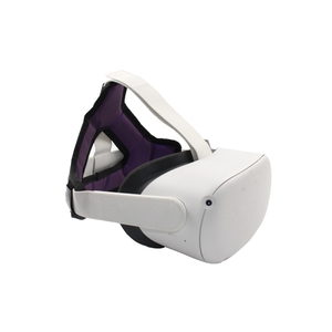 Image 2 - VR קסדת ראש להקלת לחץ רצועת קצף Pad עבור צוהר Quest 2 VR אוזניות Dropshipping