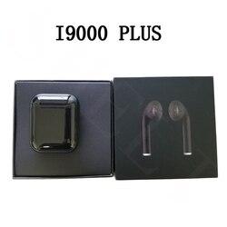 Original I9000 TWS plus Air 2 Size 1:1 1536U Chip Bluetooth Earphone support ios13 pk i10000 i2000 i1000 i800 i500 i200 i12 TWS