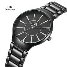 Zegarki męskie zegarki damskie zegarki kochanków proste zegarki mody zegarki Business Casual tanie tanio 24cm simple QUARTZ 3Bar Bransoletka zapięcie CN (pochodzenie) Stop 10mm Szkło Kwarcowe Zegarki Na Rękę Papier STAINLESS STEEL