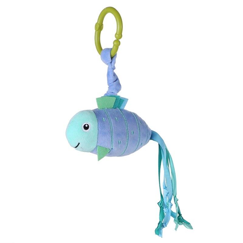 Facaily Infantil Brinquedos Do Bebê Móvel Animal Peixe Brinquedo De Pelúcia Chocalhos Cama Berço Carrinho de bebê Pendurado Sinos Brinquedos Do Bebê Chocalhos & Mobiles