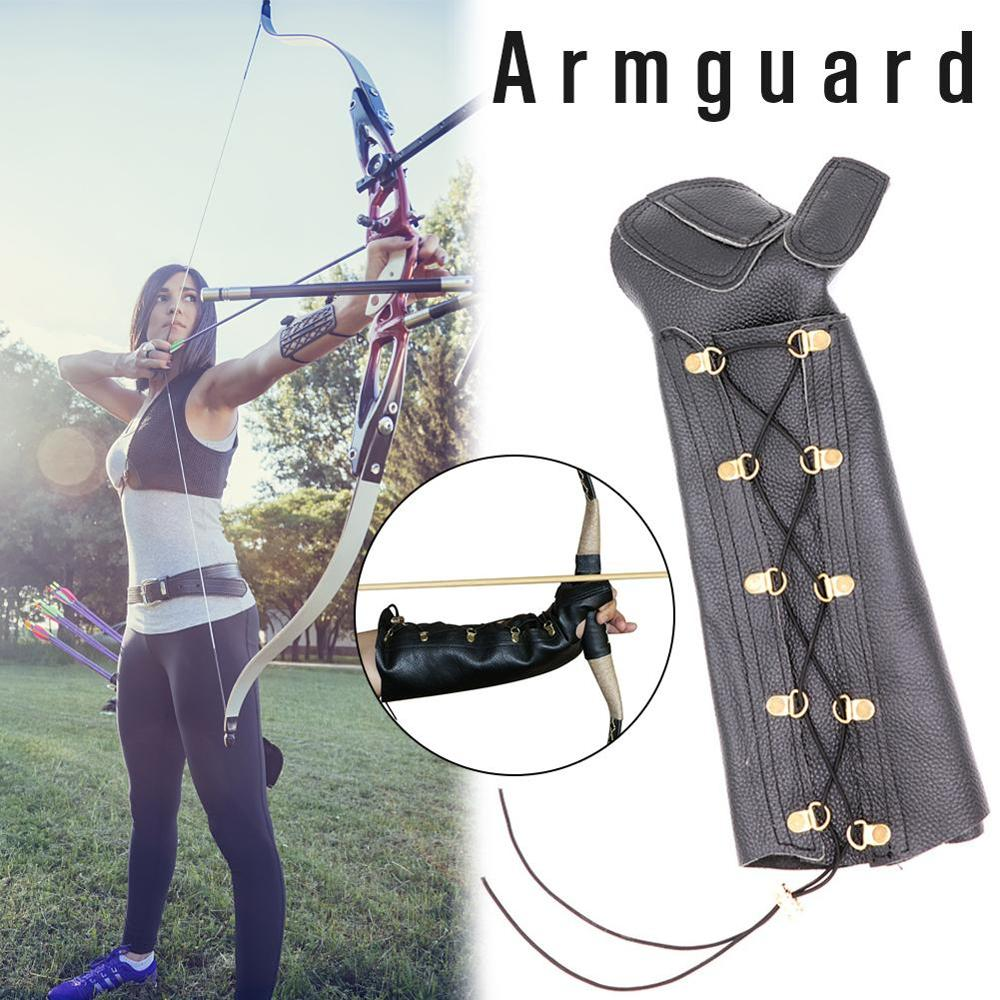 Huntingdoor-Protector de brazo para dedo, herramienta de protección para exteriores, para caza y tiro con arco