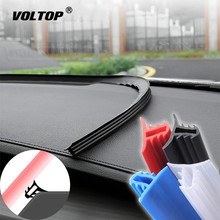 Car Stickers Dashboard Sealing Strips goods For Mazda Ford Toyota BMW Audi Hyundai KIA LADA Universal Auto Interior Accessories