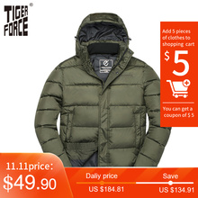 Winter Men Jacket Padded-Coat Spring Tiger-Force Male Outerwear Autumn Casual