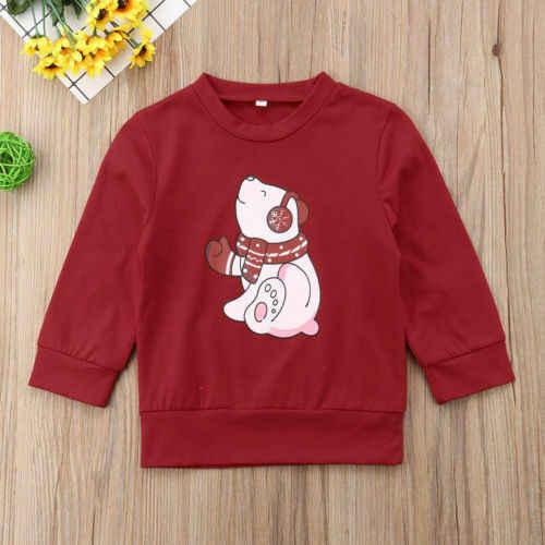 크리스마스 가족 일치하는 여자 남자 아이 스웨터 후드 스웨터 크리스마스 산타 레드 긴 소매 가을 겨울 탑 t-셔츠