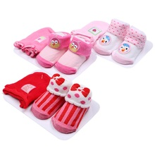 6/12 Pairs/3 Packs Cotton Colorful Infant Baby Boys And Girls Lovely Socks Toddler Unisex Boy Girl Anti-slip Warm Socks unisex baby girls long socks infant toddler knee high socks for baby boy girl white leg warmer cotton warm clothing accessories