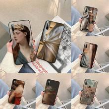 Renaissance art Painting Phone Case For Samsung S note S10E 6 7 8 9 10 20 plus edge lite Cover Fundas Coque
