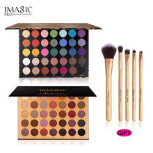 IMAGIC 35 color Eye Shadow Flash Eyeshadow Makeup Pallete Matte Palette Nude Set Cosmetic Powder Pigment neon