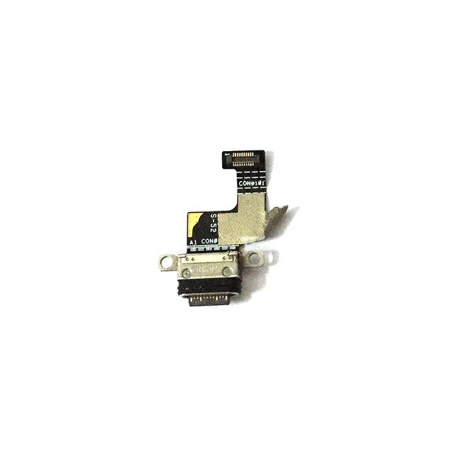 منفذ USB شحن مجلس ل Asus ROG الهاتف 1 I ZS600KL USB شحن حوض ميناء فليكس كابل إصلاح أجزاء