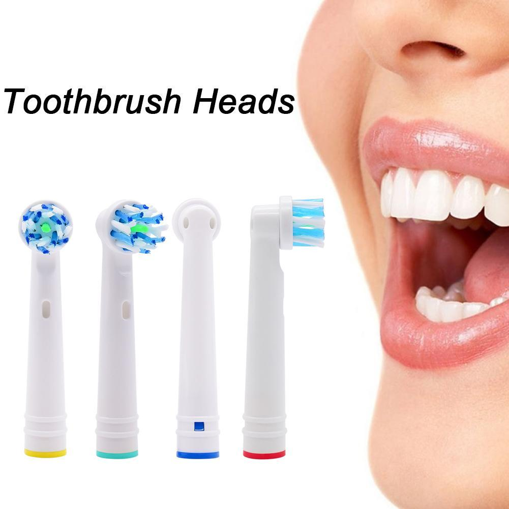 20 lots For Oral B Replacement Brush Heads- Pack 4 Crossaction Braun Generic Electric Toothbrush Heads- Cross Toothbrushes image