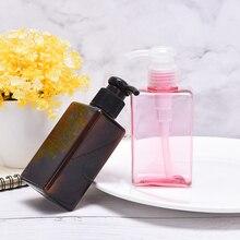 Empty-Iotion-Bottle Sub Bottling Shampoo 150ml Plastic Travel Transparent Portable Pink