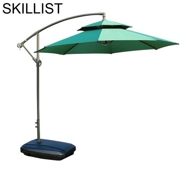 Spiaggia Beach Meuble Jardin Arredo Mobili Da Giardino Ombrelle Mariage Patio Furniture Outdoor Parasol Garden Umbrella Set