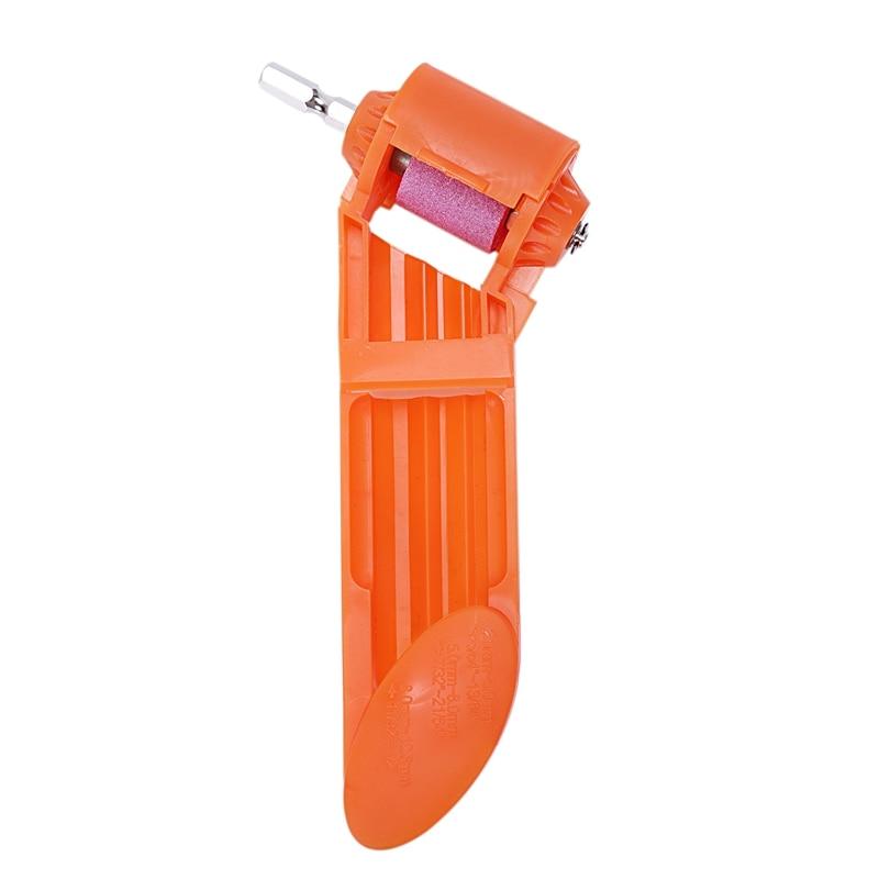 EASY-2-12.5Mm Portable Drill Bit Sharpener Corundum Grinding Wheel Portable Powered Tool For Drill Polishing