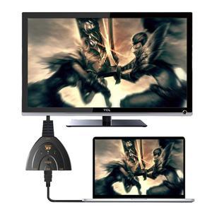 Image 5 - מתג HDMI 3 נמל 4K HDMI מתג 3 ב 1 מתוך עם גבוהה מהירות מתג ספליטר צם כבל תומך מלא HD 4K 1080P 3D נגן