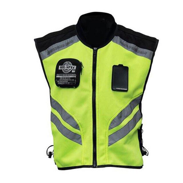 Gilet de sécurité réfléchissant pour motocyclette, gilet de protection et visibilité pour motocyclette, vêtement de sécurité