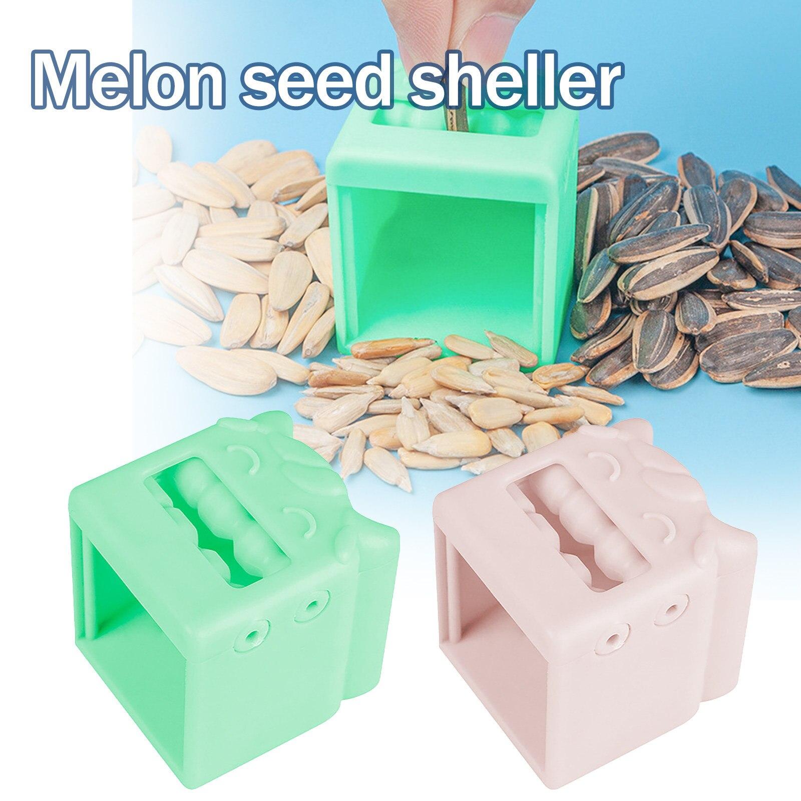 Melon Seed Shelling Lazy Artifact 4.6*4.5*4.8cm Sunflower Seed Peeler Machine Automatic Opener Nutcracker House Kitchen Gadget