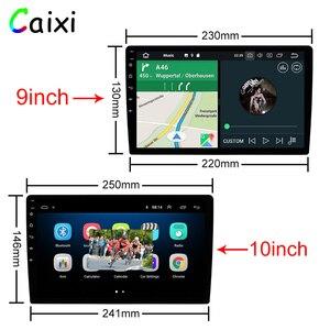 Image 3 - 9/10 pulgadas Android 9,0 2 Din auto radio Multimedia reproductor Universal estéreo para coche Gps navegación Bluetooth reproductor de vídeo trasera Cam