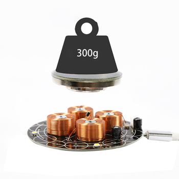Magnetic Levitation Module DIY Maglev Furnishing Articles Electronic Science Kit Load-bearing 300G/500G