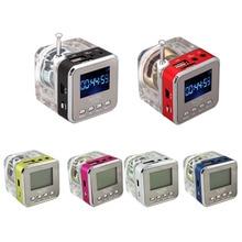 Mini Speakers Mp3-Player Fm-Radio Micro-Sd UXCELLMO USB TT-028 Nizhi Disk Lcd-Display