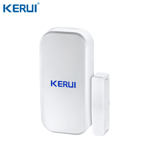 Image 5 - KERUI W20 New Model Wireless 2.4 inch Touch Panel WiFi GSM Security Burglar Alarm System APP RFID Mini Movable PIR Sensor Siren