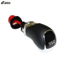 DSG-perilla de cambio de marchas, Bola de mano de plástico/cuero para SKODA Octavia Superb Yeti, accesorios para coche nuevos