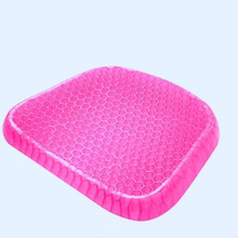 Seat Cushion Pillow Non Slip Chair Para Breathable Honeycomb Prevents Soft Sit Cushion Sweaty Bottom for Office Car Wheelchair