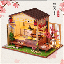 Doll House Miniature Dollhouse With Furniture Kit Wooden House Miniaturas Toys For Children New Year Christmas Gift cutebee doll house miniature dollhouse with furniture kit wooden house miniaturas toys for children new year christmas gift