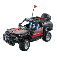 decool 33002 750pcs technic series mecfactor scorpion SUV building blocks bricks Sports Car Toys For children